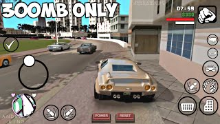 [300MB] GTA Vice City Lite Compressed Android Game | Apk+Obb | Cleo MODs | Support Nougat & Oreo