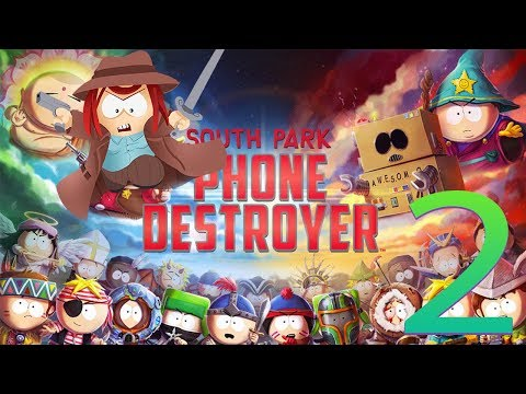 South Park: Phone Destroyer Part 2 Many Moon's Stronghold