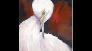 "The Beauty of Oil Painting, Series 3, episode 2 "" Egret """