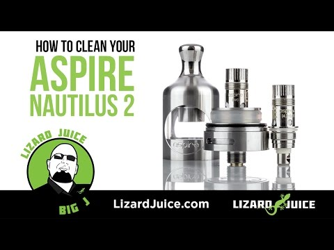 How to clean your Aspire Nautilus 2