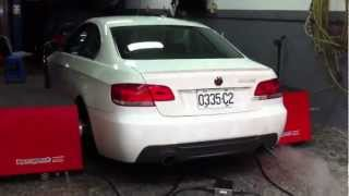 BMW N54 335i with CS racing  upgrade turbo +Cobb pro tuner map 20psi on 93OCT pump gas