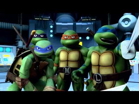 TMNT 2012/1987 ~ Trans-Dimensional Turtles MV