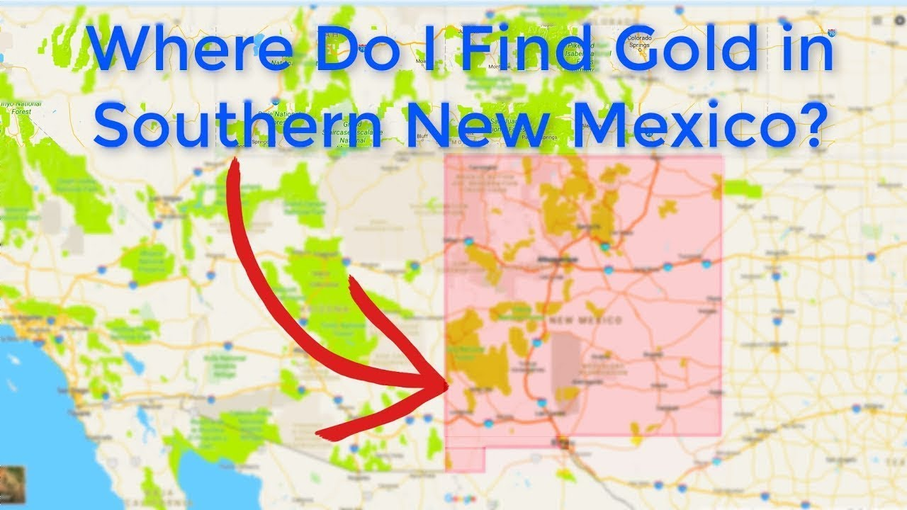 Where is gold found in new mexico youtube where is gold found in new mexico gumiabroncs Gallery