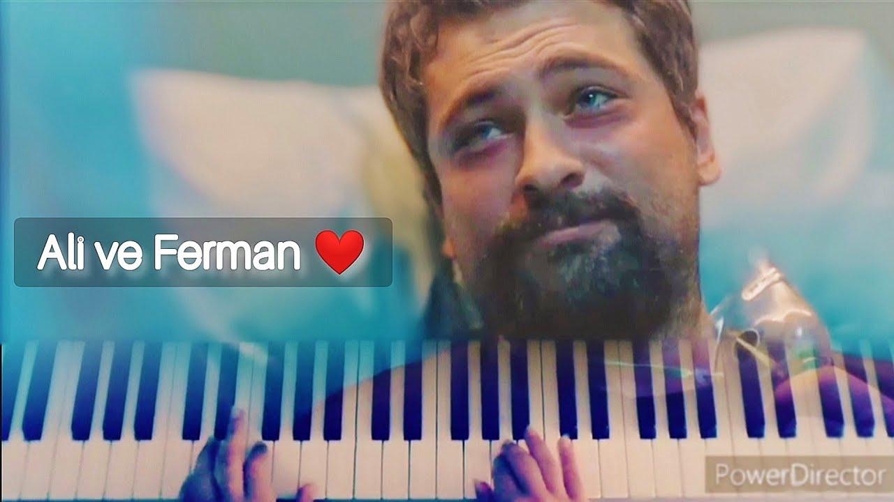 Özlüyorum-mucize doktor (piano soundtrack) \\ Ail ve ferman klip❤️