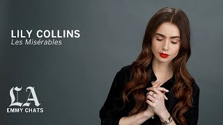 Lily Collins from 'Les Miserables,'  Emmy Contenders chats with the Los Angeles Times