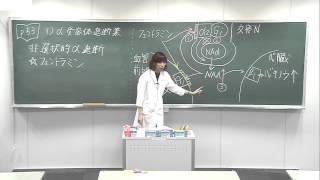 メディセレ講義動画 松村亜美子講師(薬理学)