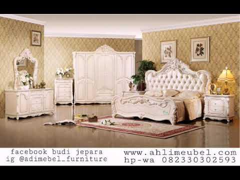 Hp-wa082330302593 Set Kamar Tidur Jati Jepara   harga furniture 1 set kamar   mebel kamar set 2018.