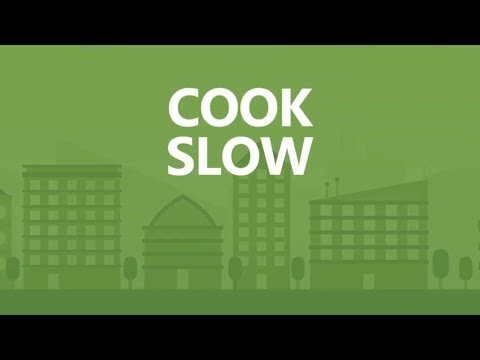 Save Big in 30 seconds a day: Cook slow.