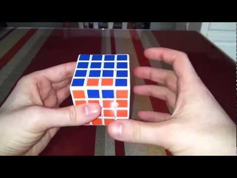 Rubik's cube 4x4 edge parity without complicated algorithms