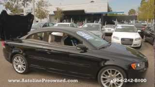 Autoline Preowned  2007 Volvo C70 For Sale Used Walk Around Review Test Drive Jacksonville