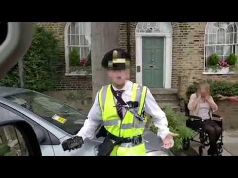 Parking Enforcement Officer Gets Instant Karma || ViralHog
