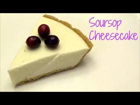 Soursop Cheesecake- No Bake & Eggless – Episode 273