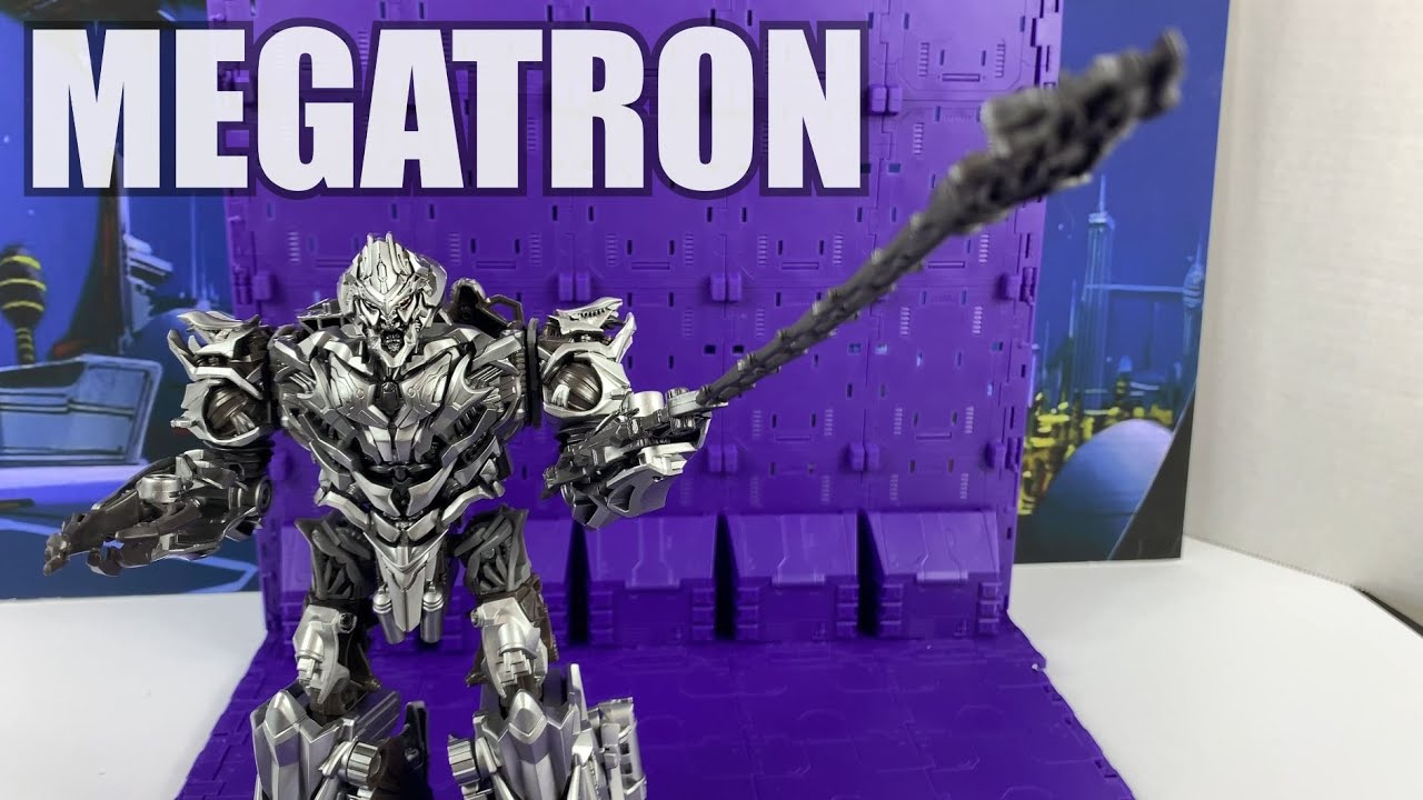 Transformers Studio Series #54 Megatron Unboxing and Review by Enewtabie
