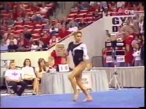 Courtney Kupets - 2007 Stanford vs UGA - Floor Exercise