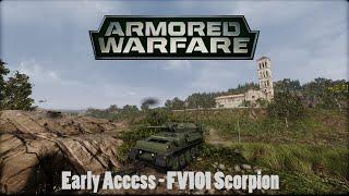 armored warfare early access fv101 scorpion 1337