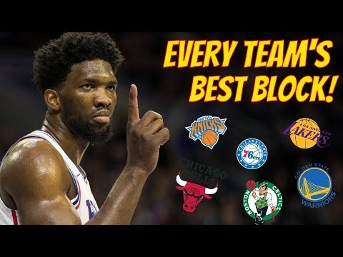 Every Team's Best Block! (2018-2019)