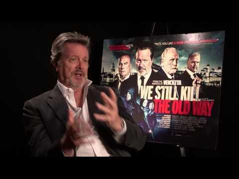 We Still Kill The Old Way  Ian Ogilvy Press Junket