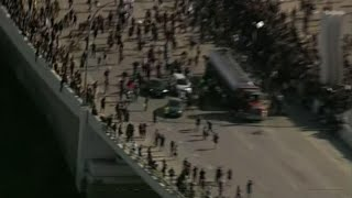 Tanker truck drives into crowd in Minneapolis