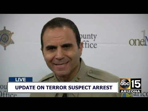 FULL BRIEF: Authorities provide update on Fountain Hills terror suspect
