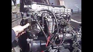 bedford fuite pompe injection sur vieux moteur