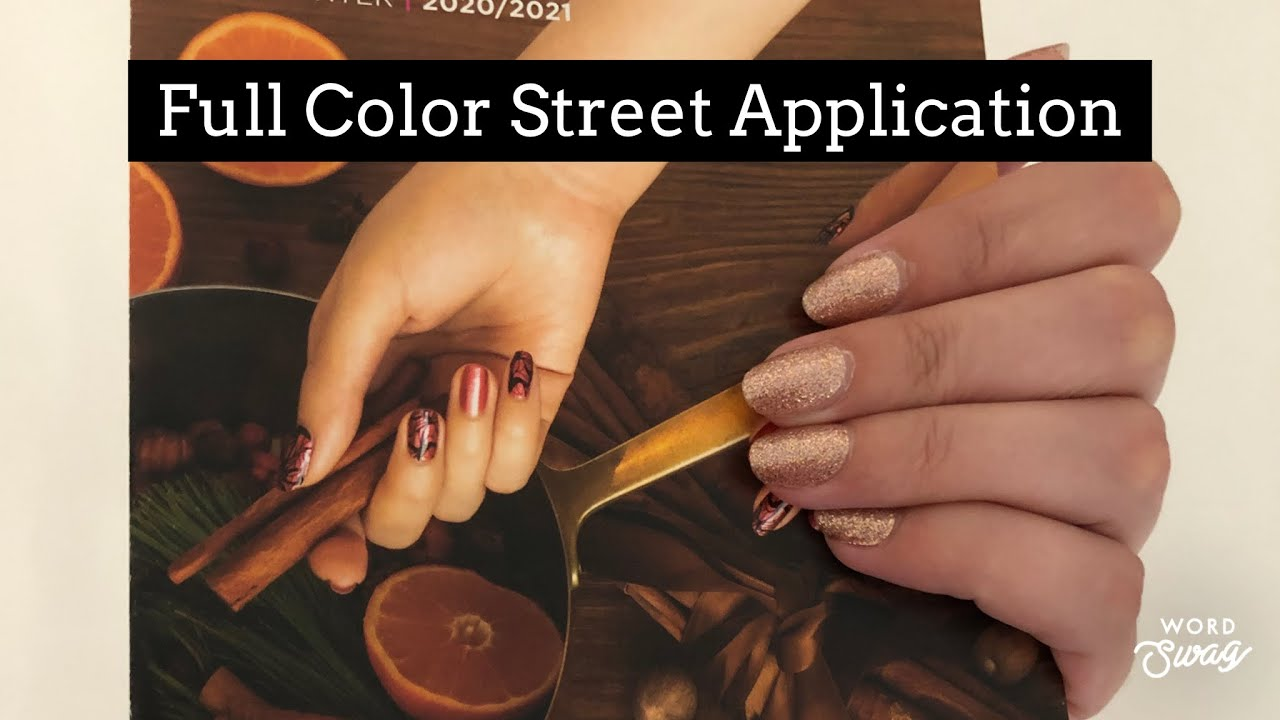 Color Street Application Youtube