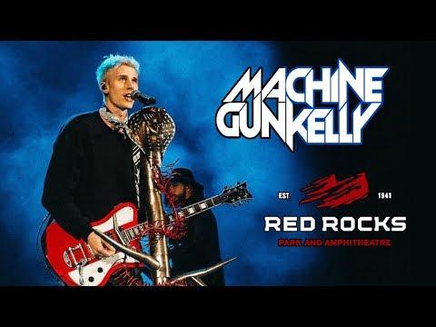 MACHINE GUN KELLY LIVE AT RED ROCKS AMPHITHEATRE!!   FULL SET & FRONT ROW