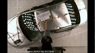 2012 Mitsubishi Lancer | Pole Crash Test | CrashNet1