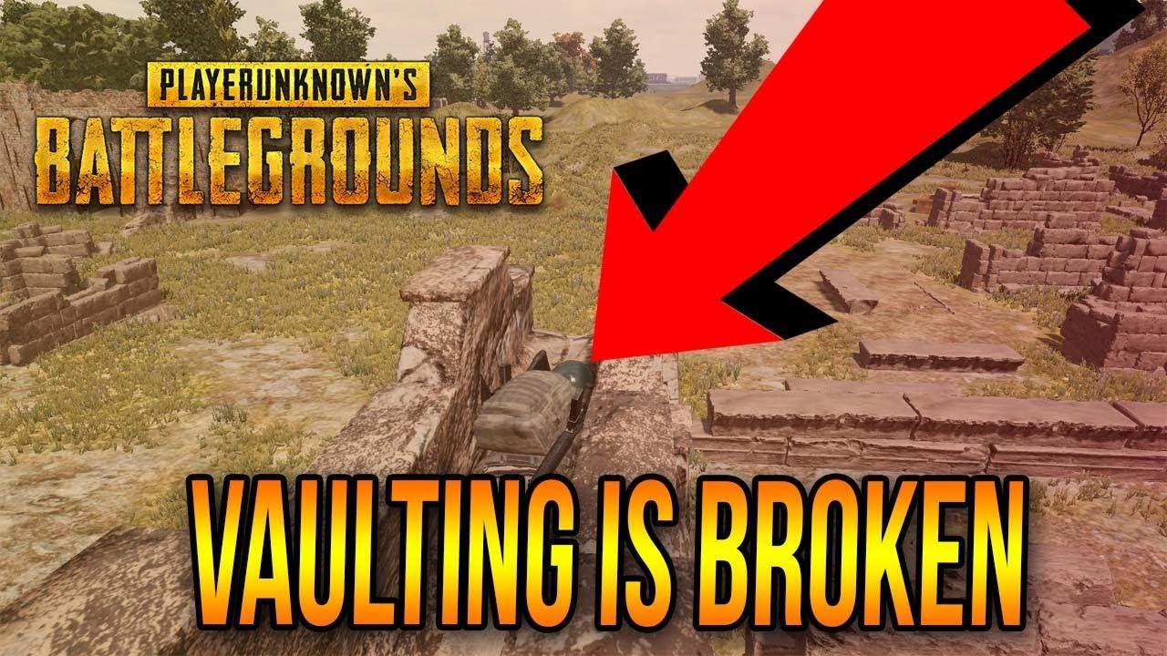 Vaulting Update Pubg