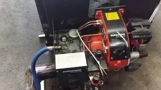 видео Котел КЧМ-7 Гном на газ. топливе 7 секц. с КАРЭ-50