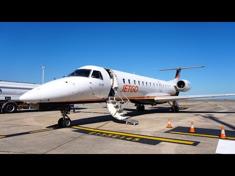 JetGo Review - Wollongong (WOL) to Melbourne (MEB) - Embraer ERJ 135