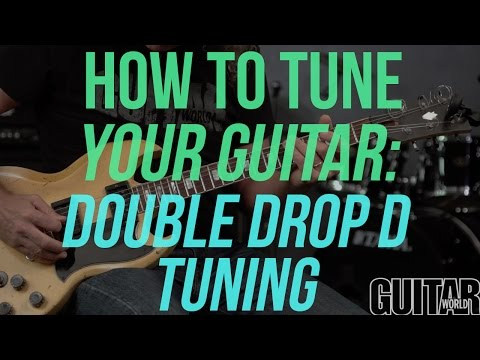 How to Tune Your Guitar to Double Drop D Tuning - Guitar Basics