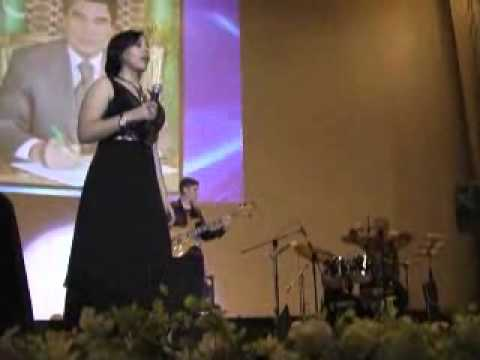 """Blues in the Night"" Performed by Maysa Niyazova in Turkmenistan"