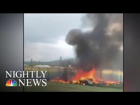 Investigators Examining Repairs Of Crashed Plane That Killed 11 People On Board | NBC Nightly News