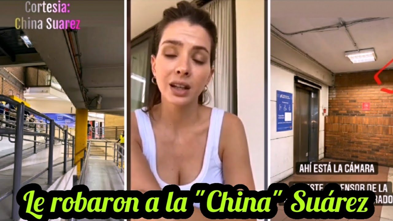 La China Suárez contó que la asaltaron en Santiago de Chile.