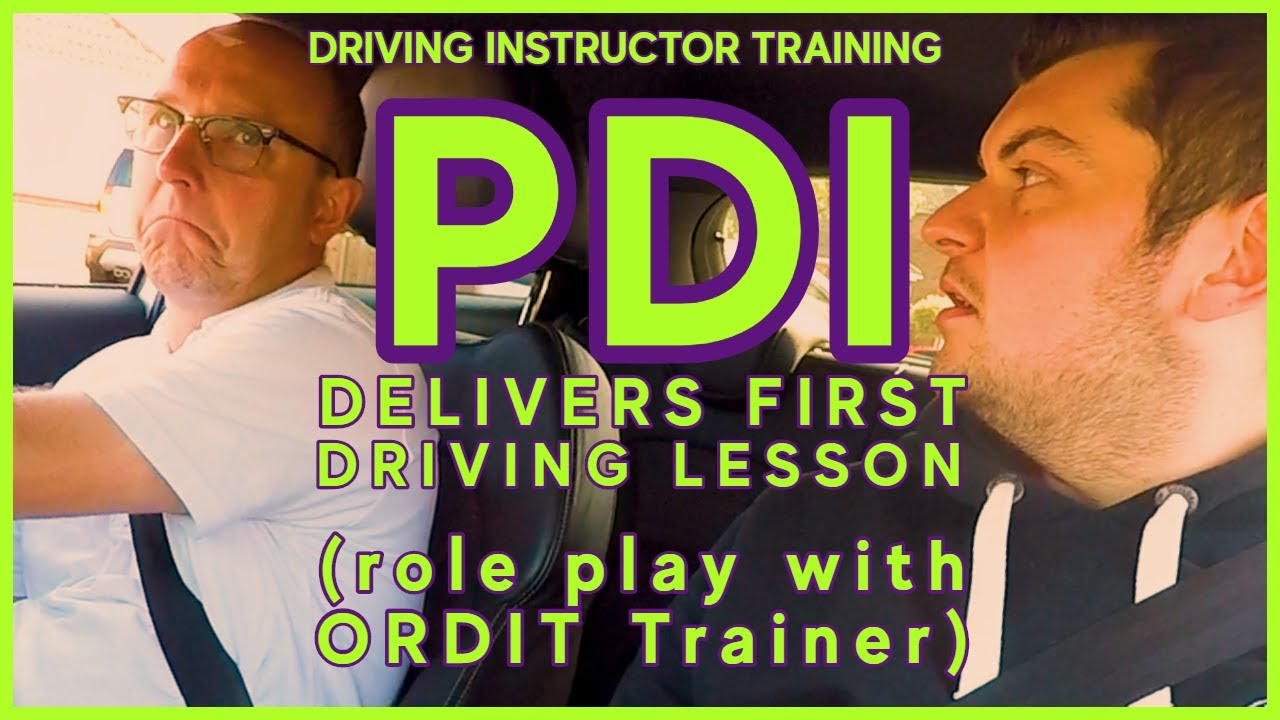 Download PDI delivers Beginners First Lesson to ORDIT Trainer