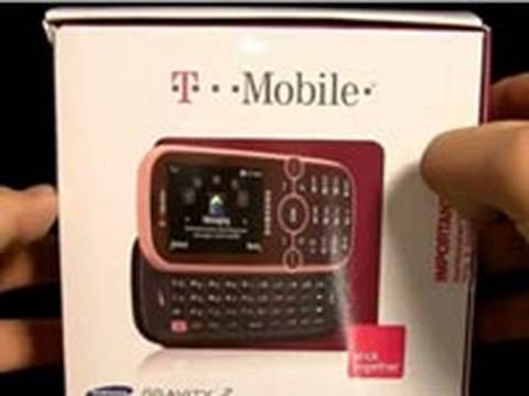 Samsung Gravity 2 (T-Mobile) - Unboxing