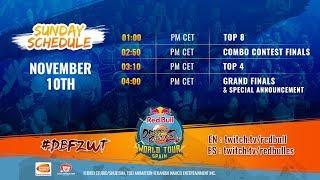 Dragon Ball FighterZ World Tour Madrid - Top 8!