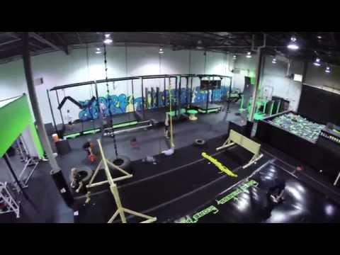 Ninja Warrior Training Gym - iCore Fitness