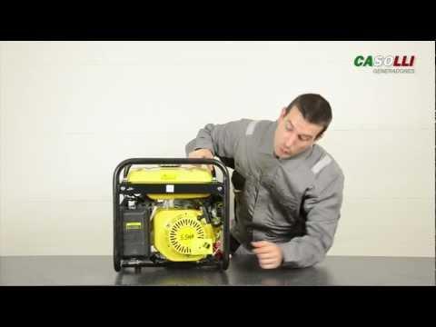 Casolli - Informacion Generador Gasolina 2500w thumbnail