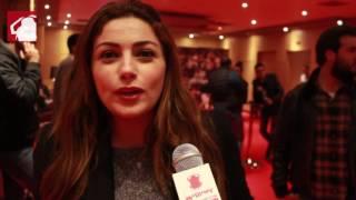بالفيديو- إنجي أباظة: آداء محمود حميدة يبهرني والتعامل مع بيتر ميمي مريح