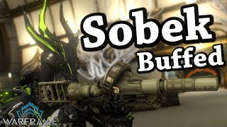 Warframe | Sobek [Buffed] (4 Forma Build)