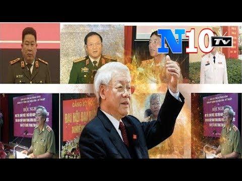 Diệt19 tướng Công An.Chủ-Bí Nguyễn Phú Trọng Ra Luật Mới Bộ CA Chỉ Còn 199 Tướng .VN Có Trong Sạch