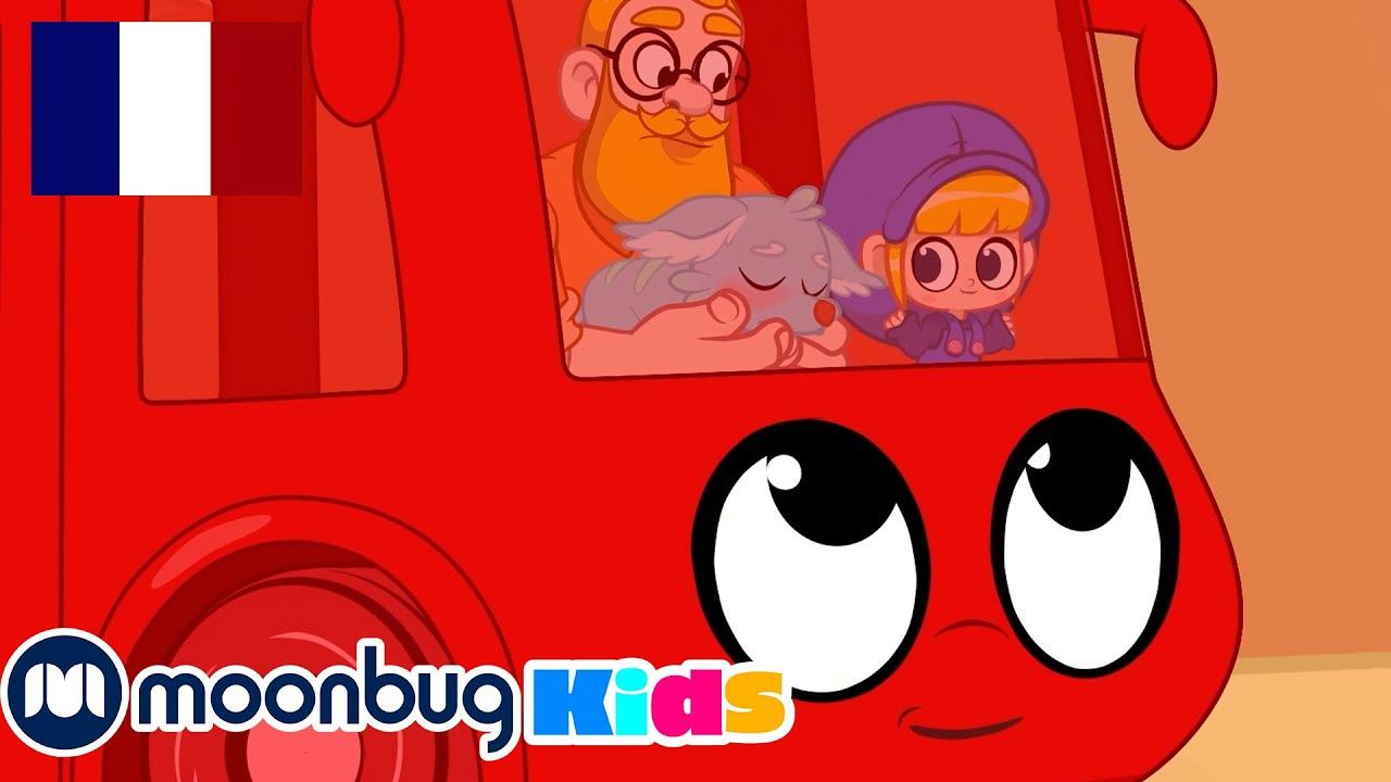 Morphle transforme en Autobus!! | MORPHLE | Vidéos Pour Enfants | Moonbug en Français