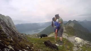 Chris and Ker Mountain Marriage Proposal Golden Ears West Canyon B.C