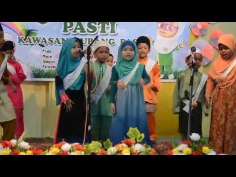 Persembahan Nasyid Gelombang Keadilan dan AEIOU dari Pelajar PASTI Ihya' Ulumuddin Changlun