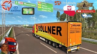 Euro Truck Simulator 2 (1.35)   Krone Megaliner Skin Pack v1.9 by TheNuvolari Renault Range T Official SCS Software Promods map v2.41 Poland Delivery + DLC's & Mods https://forum.scssoft.com/viewtopic.php?f=38&t=275105  Support me please thanks Support me