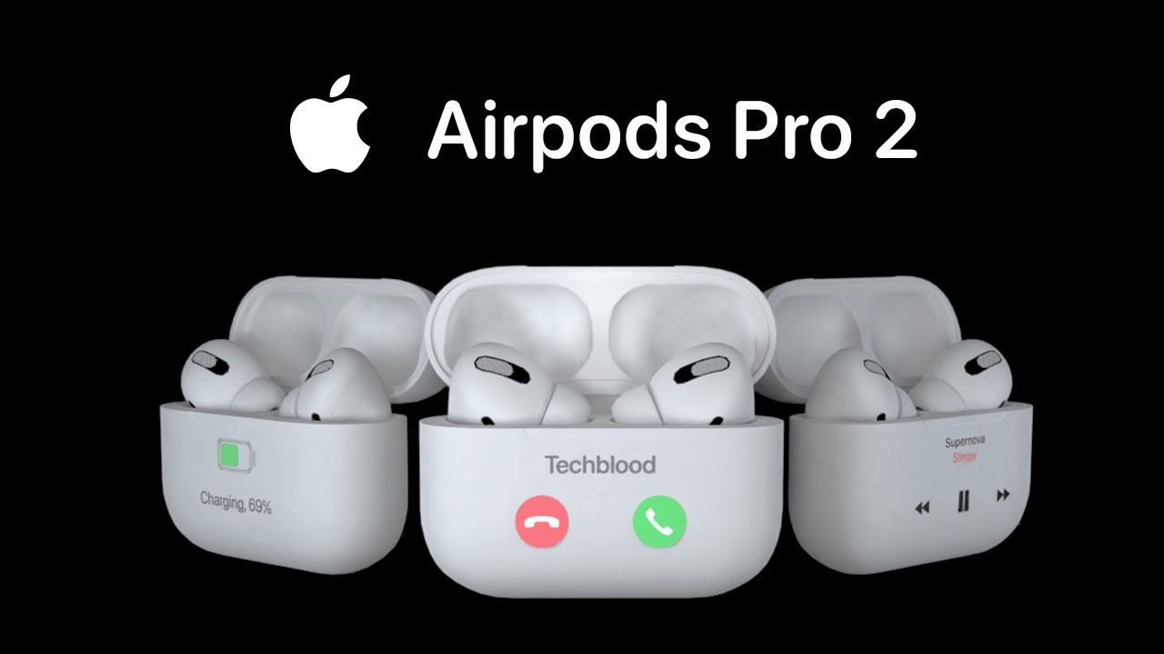 Airpods Pro 2 Apple Airpods With Retina Hd Display Youtube