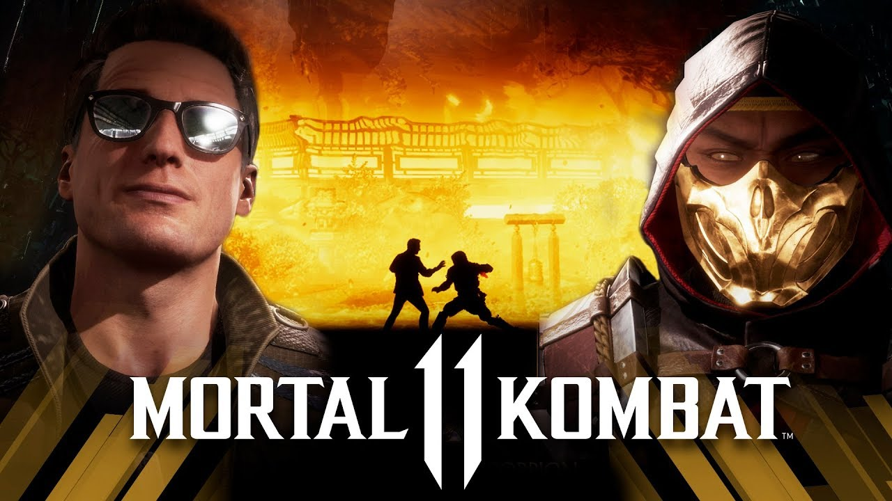 Mortal Kombat 11 Johnny Cage Vs Scorpion Very Hard Youtube