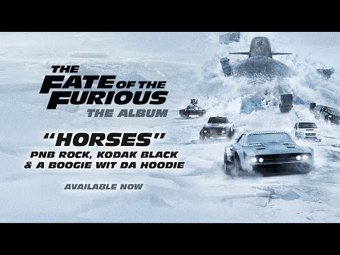PnB Rock, Kodak Black & A Boogie – Horses from The Fate of the Furious: The Album  AUDIO