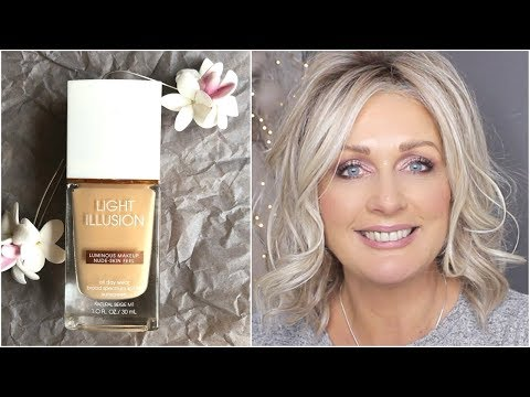 FLOWER BEAUTY LIGHT ILLUSION FOUNDATION REVIEW AND DEMO